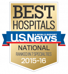 US News & World Report National Ranking Hospital