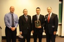 Photo from Hugh Walters Award cermeony 2012
