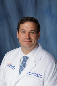 UF Department of Surgery names thoracic oncology director