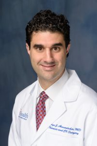 George John Arnaoutakis, M.D., joins division of thoracic and cardiovascular surgery