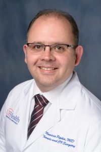 Mauricio Pipkin, M.D., joins division of cardiovascular and thoracic surgery