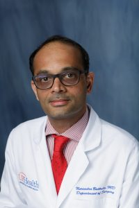 Narendra R. Battula, MBBS, MRCS, M.D., FRCS, joins division of transplantation surgery