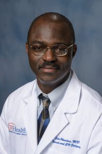 Olusola Oduntan, M.D., FACS, FCCP, joins division of cardiovascular and thoracic surgery