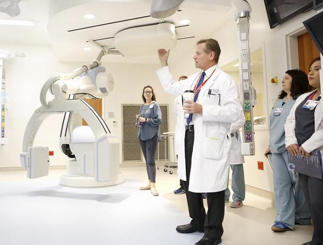 In The News: UF Health Heart & Vascular and Neuromedicine hospitals have hybrid ORs that allow for better patient care